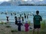 Sunday swim with harbour patrol jan 6th 2013